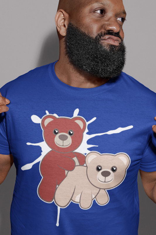 2 Bears have Fun Gay Bear T-Shirt
